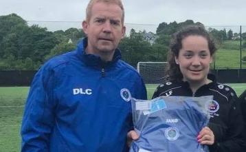 Manorhamilton's Leah Fox confirmed as part of Sligo Rovers U17 squad ahead of start of Women's League