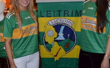 Watch   2019 Leitrim jersey officially unveiled in JP Clarke's Saloon, New York