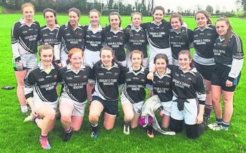 Football success for Lough Allen College girls against Carrigallen