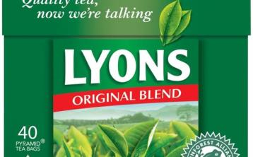 Time to stock up on Lyons Tea