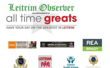 Cast your vote in the final round of Leitrim's All Time Great!