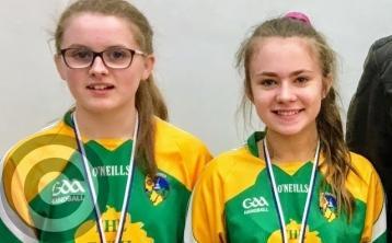 Connacht medals for Amy, Aoibhe & Caoimhe