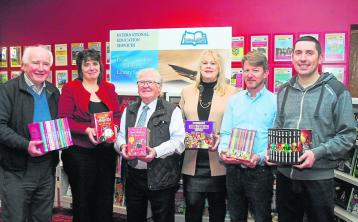 Leitrim Guardian book presentations to local schools