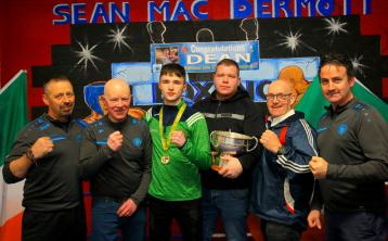 Gallery   Large crowds descend on Manorhamilton's Sean McDermott Boxing Club to welcome home Elite Champion Dean Clancy