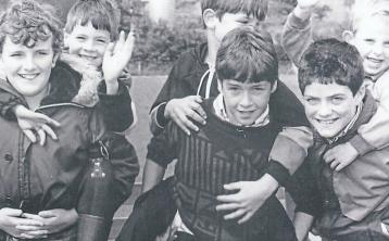 Archive Image of the Week: Boys will be boys enjoying themselves at Manorhamilton Show