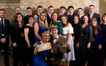 Elphin's Dillion Beirne & Monaghan Lisa Brennan are crowned the 2020 AIB Northwest Macra King and Queen