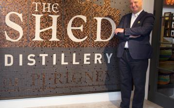Pat Rigney from The Shed Distillery elected Chair of Drinks Ireland