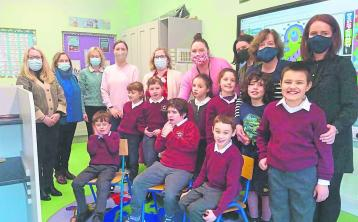 Opening of Drumshanbo NS extension for pupils with autism