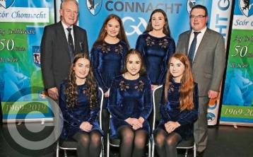 St. Mary's ballad group only Leitrim winners in Connacht Scor na nOg Finals