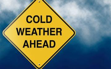Bitterly cold conditions today for the North West of Ireland