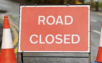 Diversion in place on N16 Sligo to Manorhamilton road at Glencar