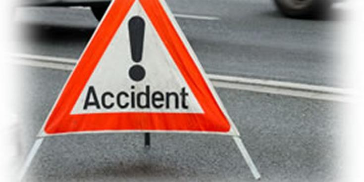 Road closure due to serious road accident
