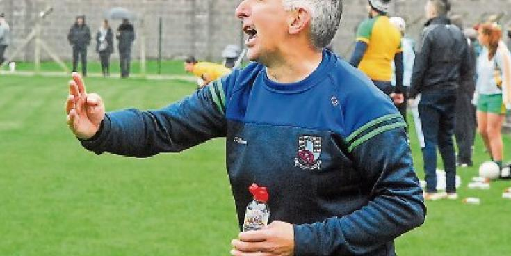 Great to get over the line says St Joseph's manager Fergal Brady