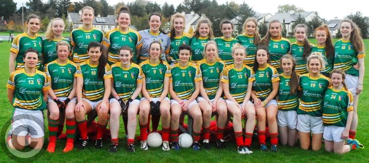 fa33e4d9fdc2de The Kiltubrid team who were defeated by Carnacon in the Connacht Ladies  Senior Club Championship Final last Sunday in Charlestown. Photo by Willie  Donnellan