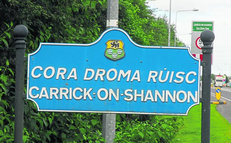 Advance signage for Carrick four years in discussion