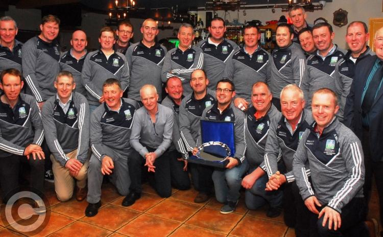 Leitrim Longford Masters celebrate All-Ireland triumph - GALLERY