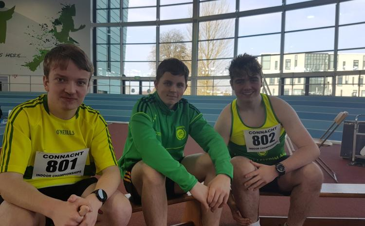 Gallery: Leitrim athletes claim 11 gold medals at Connacht Indoor Championships