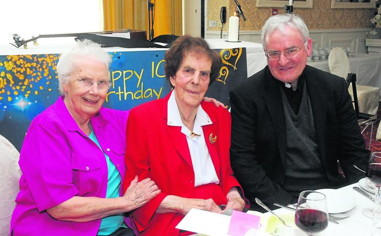Gallery   Annie Cullen says thanks to all who made her 100th Birthday such a wonderful day