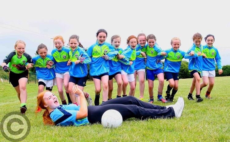 Fun & craic at the Leitrim GAA Kellogg's Cul Camp in Drumshanbo - GALLERY