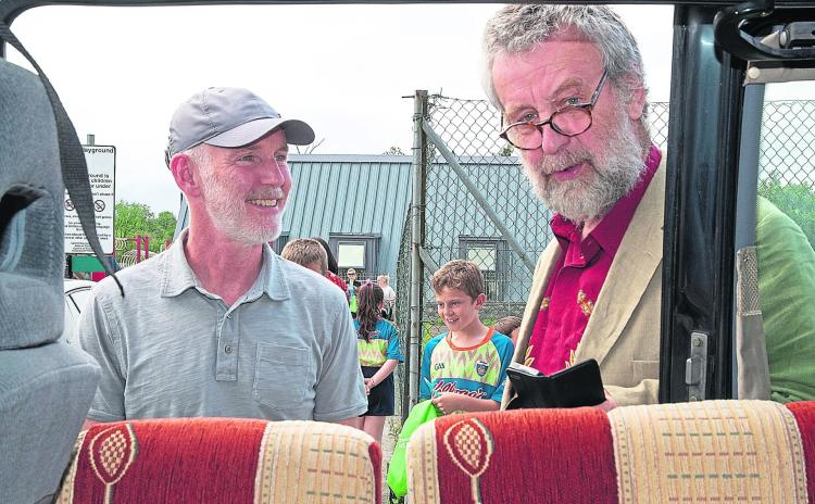 Gallery   The sun shone on Drumshanbo for Ray Darcy's live broadcast