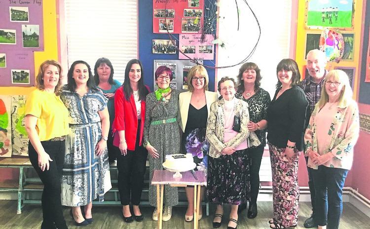 Gallery | Drumreilly principal Clare McLoughlin retires