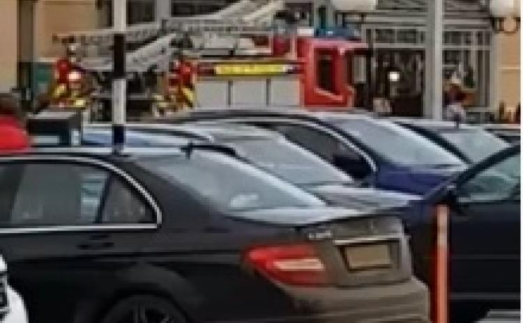 WATCH| Fire breaks out at Longford shopping centre