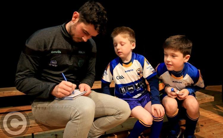 Ryan McHugh presents medals to Glencar/Manorhamilton GAA underage teams - GALLERY