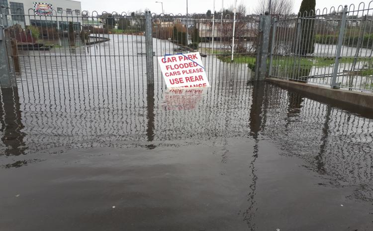 GALLERY: Flooding around Carrick-on-Shannon today, Friday, February 21, 2020
