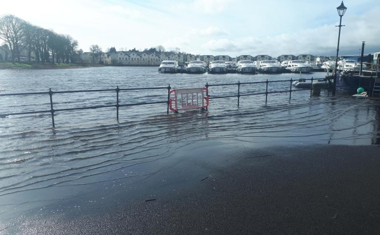 Gallery | Leitrim County Council continue to monitor flooding in Carrick-on-Shannon