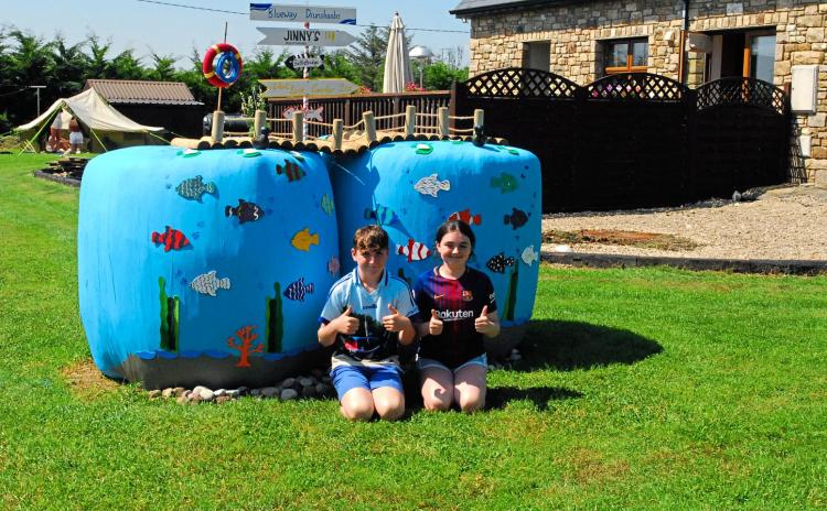GALLERY 1: Check out some of this year's entries in Leitrim's Stylish Silage competition
