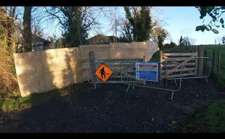 Watch: The almost finished Ballinamore Greenway section