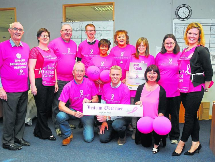 Observer goes pink in aid of Breast Cancer Research