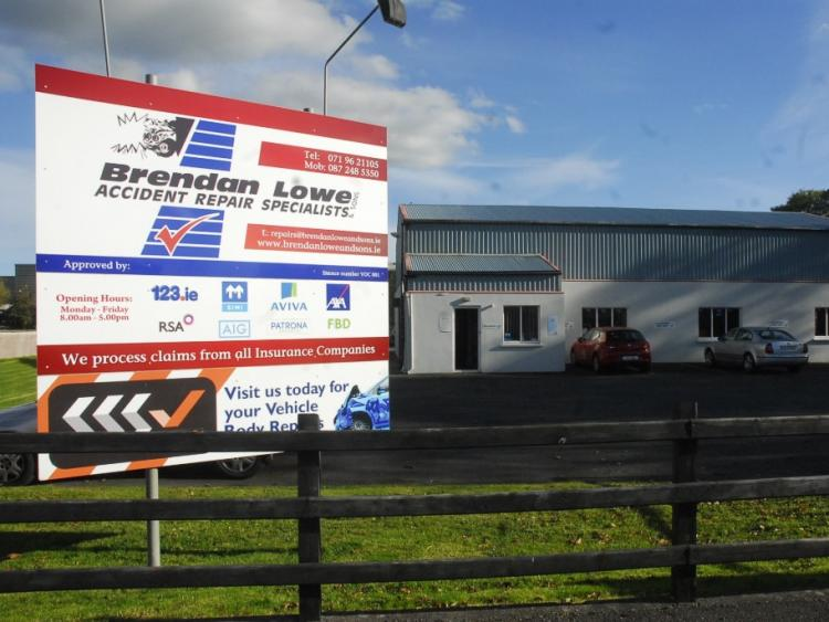 Brendan Lowe Accident Repair Specialists in the running for