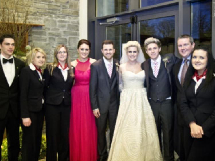 The Wedding Of Greg Horan And Denise Kelly With Best Man Niall From One Direction