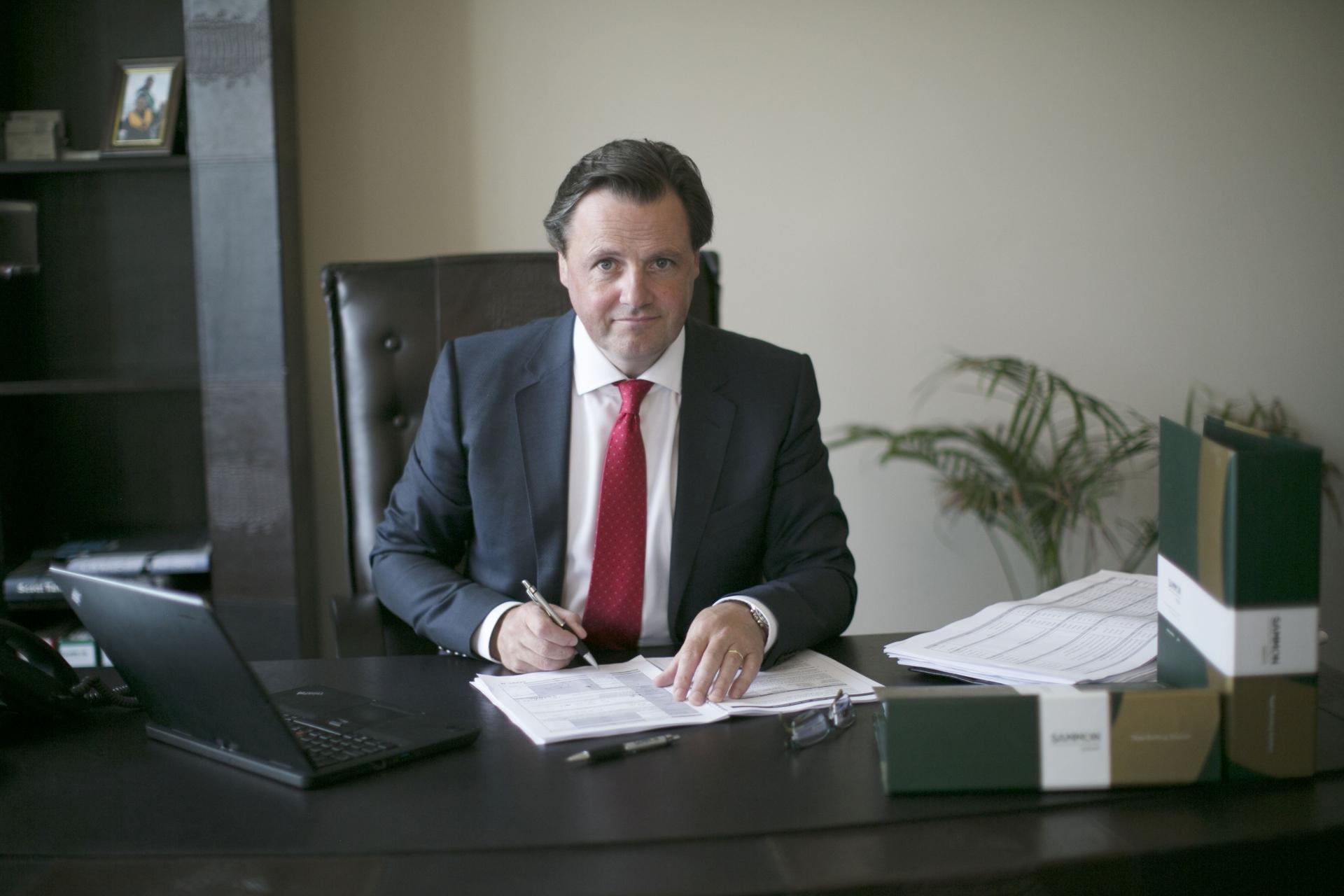Founder and CEO of the Sammon Group Miceál Sammon