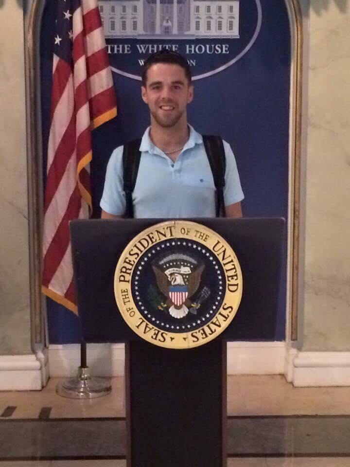 Colm Costello in Washington DC