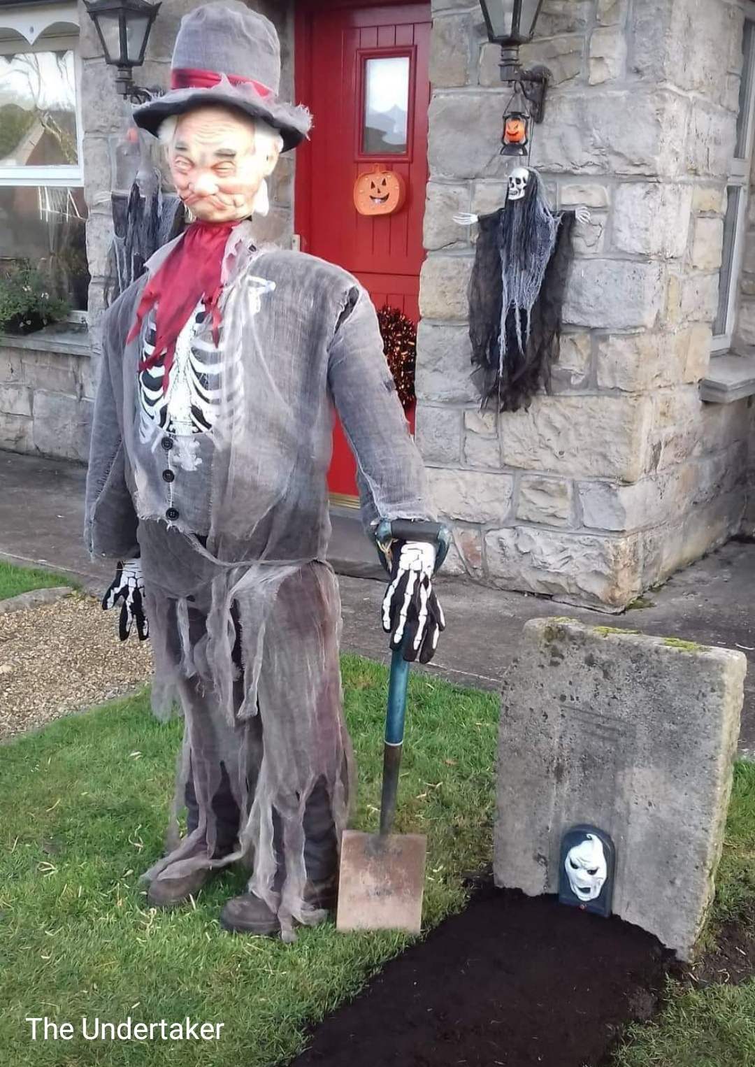 The Undertaker - one of the scarecrows in Keshcarrigan