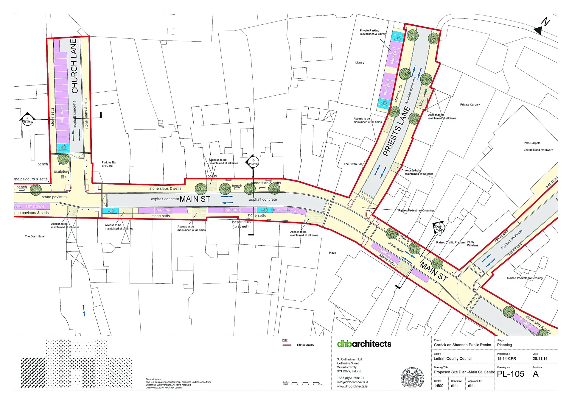 Plans for Carrick-on-Shannon Town Centre
