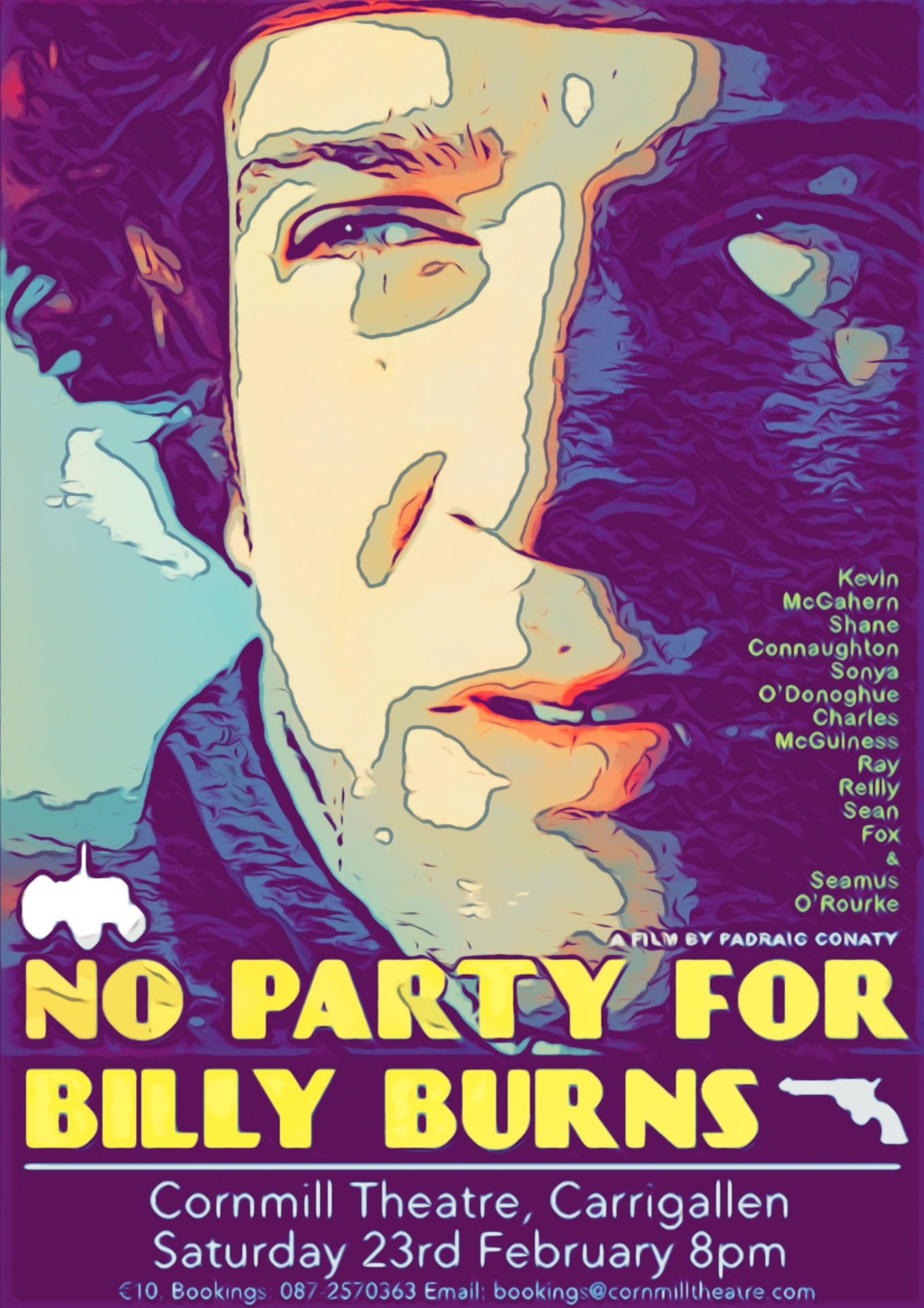 No Party for Billy Burns poster