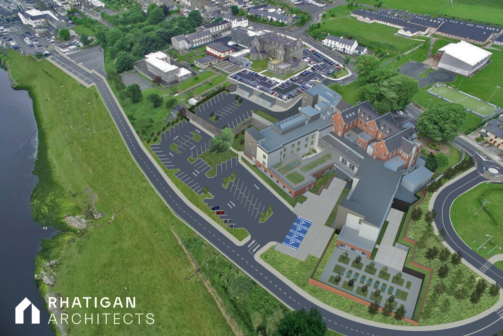 Image of new Sheil Hospital